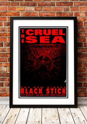 Cruel Sea 'Black Stick' – In-Store Poster 1993