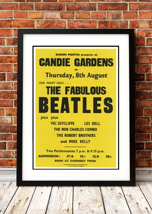 Beatles 'Candie Gardens' – Guernsey UK 1963