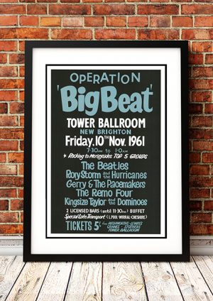 Beatles / Rory Storm / Gerry And The Pacemakers 'Tower Ballroom' – New Brighton UK 1961