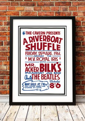 Beatles (as Support Band) / Acker Bilk 'Riverboat Shuffle' – Liverpool UK 1961