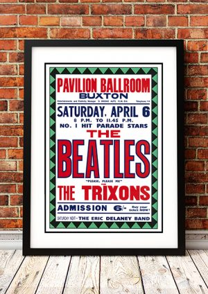 Beatles / The Trixons 'Pavilion Ballroom' – Buxton UK 1963
