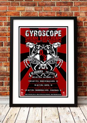Gyroscope / Bleeders / Critics 'Dream Vs Scream' – Western Australia 2006