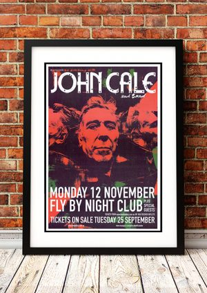 John Cale – Perth Australia 2007