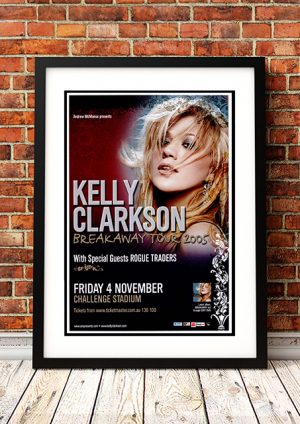 Kelly Clarkson / Rogue Traders 'Breakaway Tour' – Perth Australia 2005
