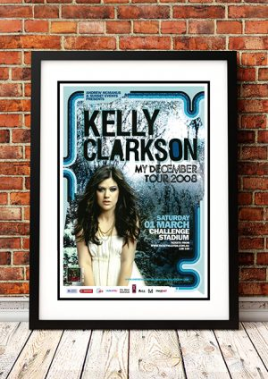 Kelly Clarkson 'My December' – Perth Australia 2008