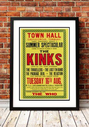 Kinks – 'Town Hall Castle Circus' Torquay UK 1966