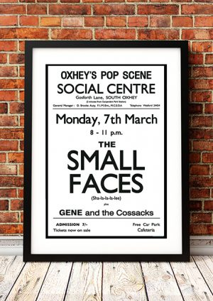 Small Faces / Gene And The Cossacks – South Oxhey UK 1965