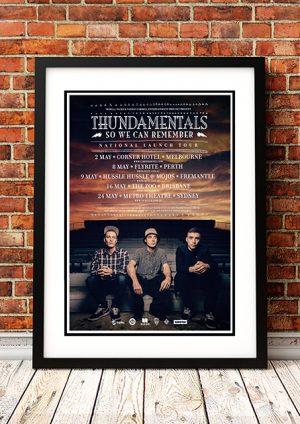 Thundamentals 'So We Can Remember' Australian Tour 2014