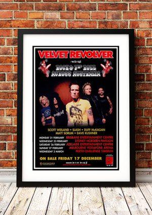 Velvet Revolver – Contraband 'Rock & Fn Roll' Australian Tour 2005