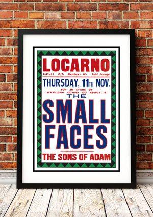 Small Faces / The Sons Of Adam – 'Locarno' Swindon UK 1965