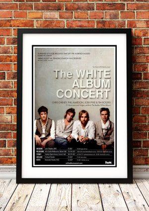 White Album Concert Featuring Chris Cheney, Phil Jamieson, Josh Pyke And Tim Rogers – Australian Tour 2014