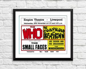 Who / The Small Faces / Joe Cocker – 'Empire Theatre' Liverpool UK 1968
