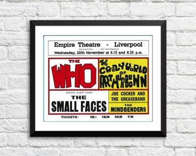 Who / The Small Faces / Joe Cocker - 'Empire Theatre' Liverpool UK 1968-0