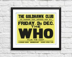 Who / The Cast – 'The Goldhawk Club' London UK 1965