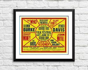 Who / Marianne Faithfull / Spencer Davis / The Byrds ' Uxbridge Blues And Folk Festival 1965