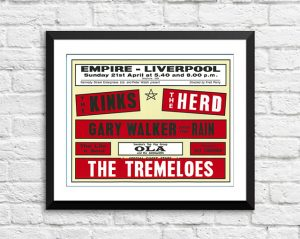 Kinks / The Herd / The Tremeloes 'Empire' – Liverpool UK 1964