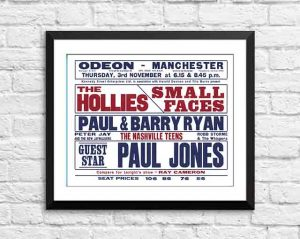 Hollies / Small Faces 'Odeon' – Manchester UK 1966