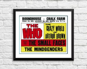 Who / The Small Faces / The Mindbenders – 'Roundhouse' Chalk Farm UK 1968