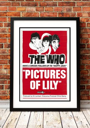 Who – 'Pictures Of Lily' In-Store Poster UK 1967