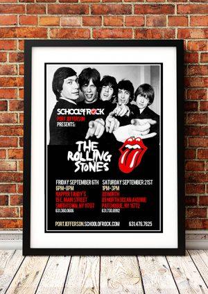 Rolling Stones 'School Of Rock' – Port Jefferson USA