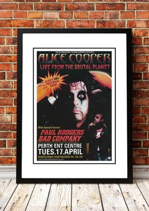 Alice Cooper / Paul Rodgers 'Perth Entertainment Centre' Perth, Australia 2001