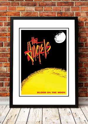 Angels (Angel City) 'Blood On The Moon' In Store Poster 1990
