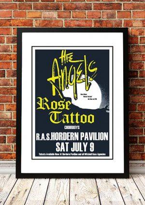Angels / Rose Tattoo / Choirboys 'Hordern Pavilion' Sydney, Australia 1983