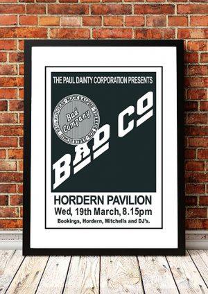 Bad Company 'Hordern Pavilion' Sydney, Australia 1975