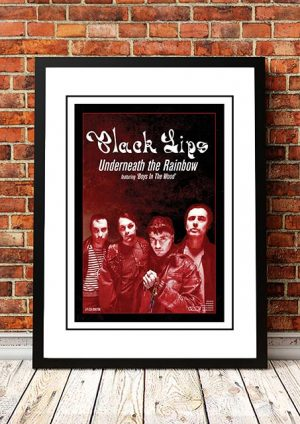 Black Lips 'Underneath The Rainbow' In Store Poster 2014