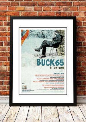Buck 65 'Situation' Australian Tour 2008