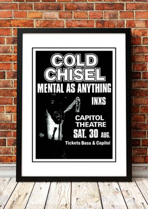 Cold Chisel / Mental As Anything / INXS 'Capitol Theatre' Sydney, Australia 1981