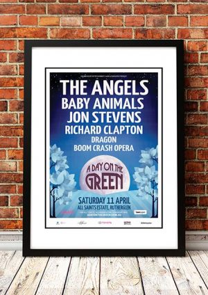 The Angels / Baby Animals / Dragon 'A Day On The Green' Rutherglen, Australia 2015