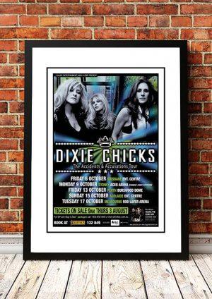 Dixie Chicks 'Taking The Long Way' Australian Tour 2006