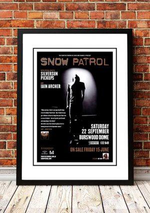 Snow Patrol / Silversun Pickups 'Burswood Dome' Perth, Australia 2007