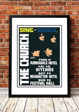The Church 'Sing Songs' Sydney, Australia 1982