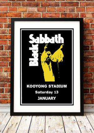 Black Sabbath 'Kooyong Stadium' – Melbourne Australia 1973