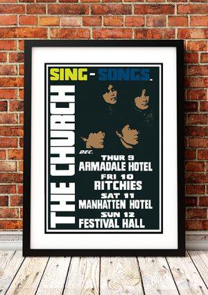 Church 'Sing Songs' – Sydney Australia 1982