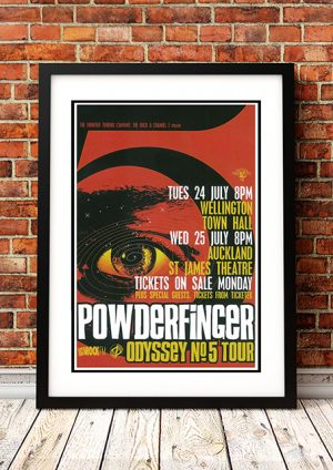 Powderfinger 'Odyssey No 5' – New Zealand Tour 2001