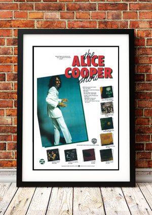 Alice Cooper – Australian Tour 1977