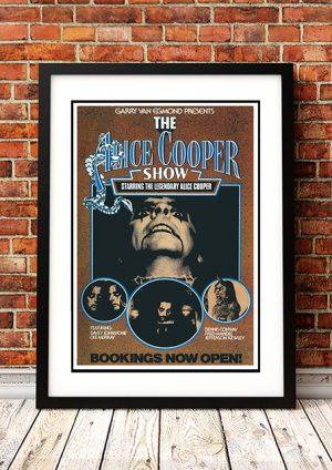 Alice Cooper 'The Alice Cooper Show' – Australian Tour 1977