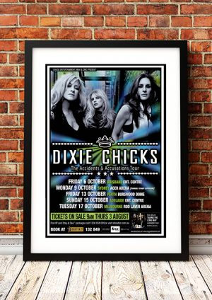 Dixie Chicks 'Taking The Long Way' – Australian Tour 2006