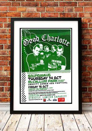 Good Charlotte 'Gravity Games H20 Festival' – Perth Australia 2004