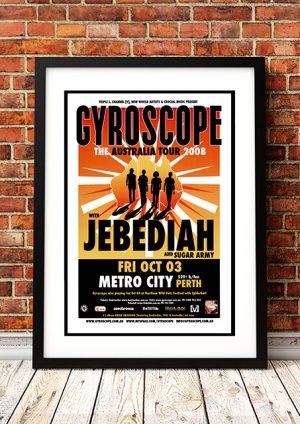 Gyroscope / Jebediah / Sugar Army 'The Australia Tour' – Perth Australia 2008