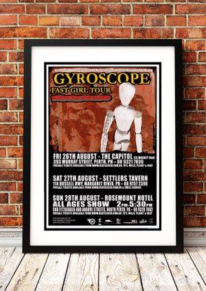 Gyroscope 'Fast Girl' – Western Australian Tour 2005