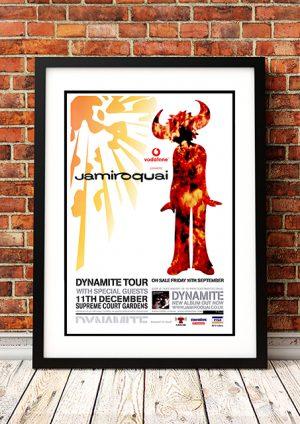 Jamiroquai 'Dynamite Tour' – Perth Australia 2005