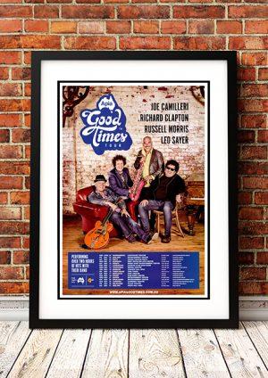 Joe Camilleri / Richard Clapton /  Russell Morris / Leo Sayer 'Good Times Tour' Australia 2014