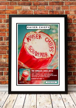 Kaiser Chiefs 'Souvenir' – In-Store Poster 2012