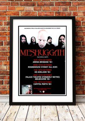 Meshuggah 'Obzen' – Australian Tour 2008