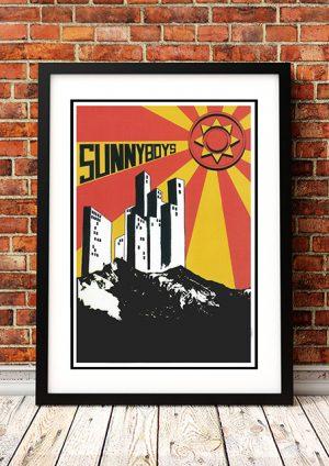 Sunnyboys 'Gig Poster' – Australia 1981