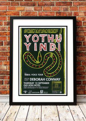 Yothu Yindi / Deborah Conroy 'Tribal Voice' – Adelaide Australia 1992